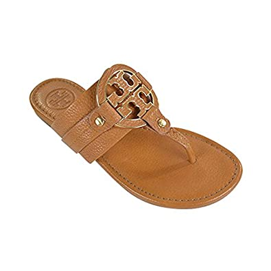 Tory burch amanda flat thong tumbled leather for Tory burch jewelry amazon
