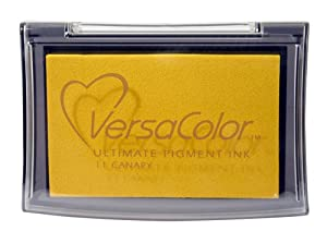 Tsukineko Full-Size VersaColor Ultimate Pigment Inkpad, Canary from Tsukineko
