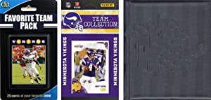 NFL Minnesota Vikings Licensed 2010 Score Team Set and Favorite Player Trading Card... by C&I Collectables