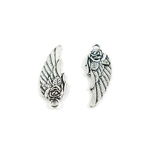 x Ancient Silver Fashion Jewelry Making Charms 13537