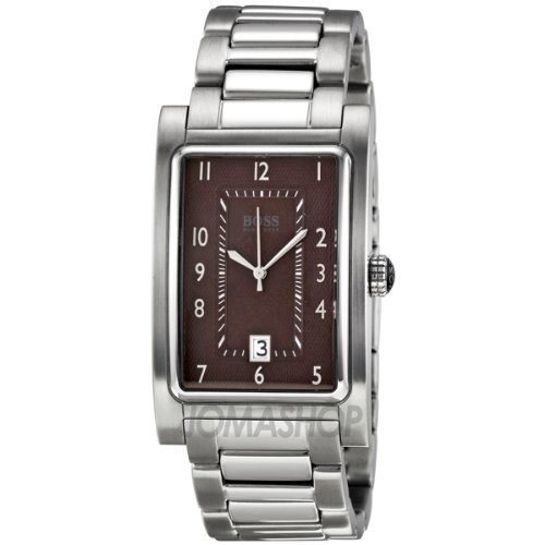 Hugo Boss Brown Dial Stainless Steel Mens Watch HB1512216