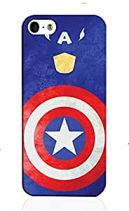 Inkspired Captain America Cover for iPhone 5/5s