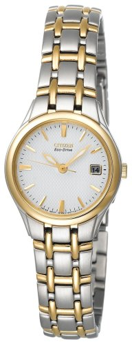 Citizen Ladies Eco-Drive Silhouette Two-Tone Watch #EW1264-50A