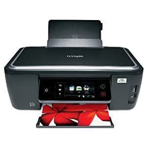 Lexmark Interact S605 Wireless Multifunction Inkjet Printer with Web-enabled myTouch LCD Touchscreen