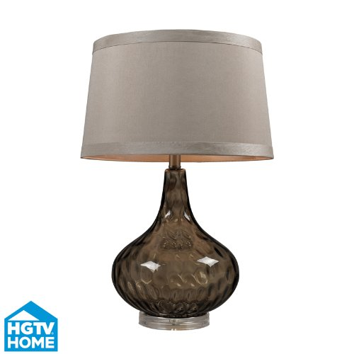 Dimond Lighting Hgtv148 1 Light Table Lamp From The Hgtv Bedford Collection, Coffee Smoked