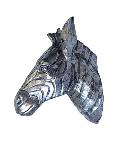 Arthur Zebra Wall Decoration, Silver