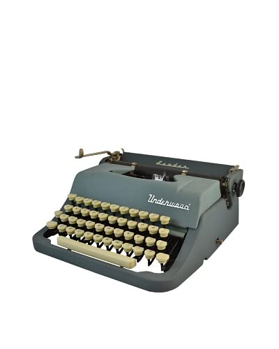 1954 Underwood Leader, Blue Green As You See
