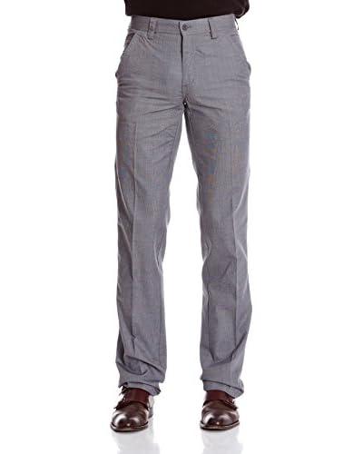 Macson Pantalón Semi-Vestir Stretch Gris