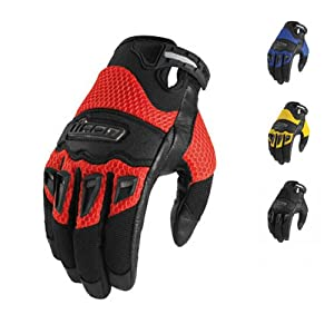 ICON Twenty-Niner Gloves (LARGE) (BLACK)