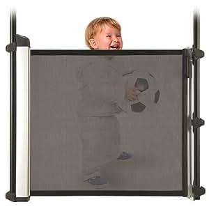 retractable kiddyguard avant baby gate indoor safety gates baby. Black Bedroom Furniture Sets. Home Design Ideas