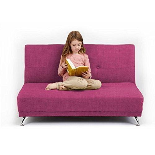Kinder Couch Sofabett, ausfaltbar, Zweisitzer – Orchidee kaufen