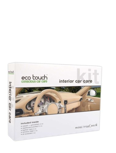 Eco Touch (GPK110) Interior Car Care Kit Mini Pack (Meguir Leather Cleaner compare prices)