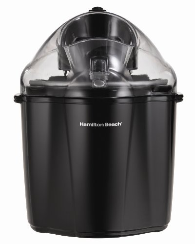 Hamilton Beach 68320B 1.5 Qt. Capacity Ice Cream Maker