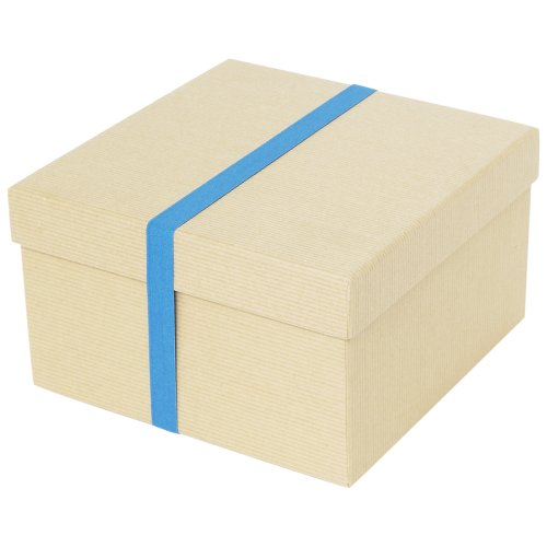 Paperchase recycled kraft medium gift box