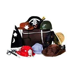 Ultimate Boys Costume Role Play Dressup Hat & Accessory Trunk