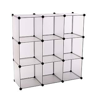 Partager facebook twitter pinterest songmics diy commode cube a t ajout - Cubes de rangement modulables ...