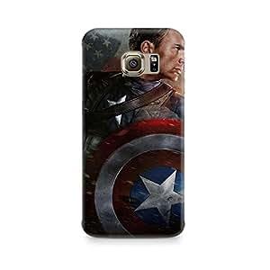 Ebby Captain America Sheild Premium Printed Case For Samsung S7 Edge