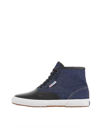 Superga Sneaker Fw [Blu/Marrone]