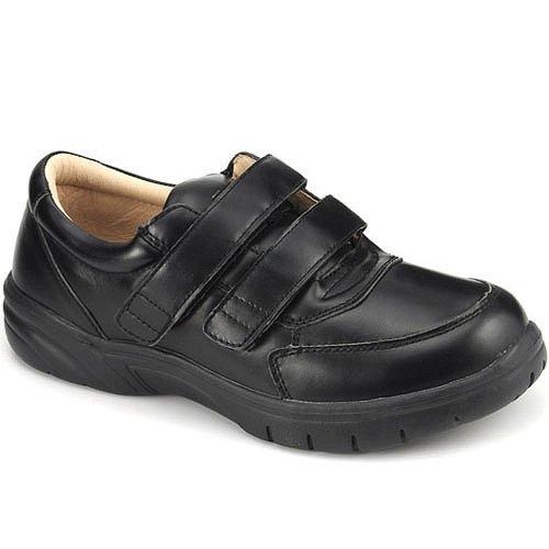 Apis Mt. Emey 888-V Men'S Therapeutic Extra Depth Shoe: Black 15 Xx-Wide (6E) Velcro front-368197