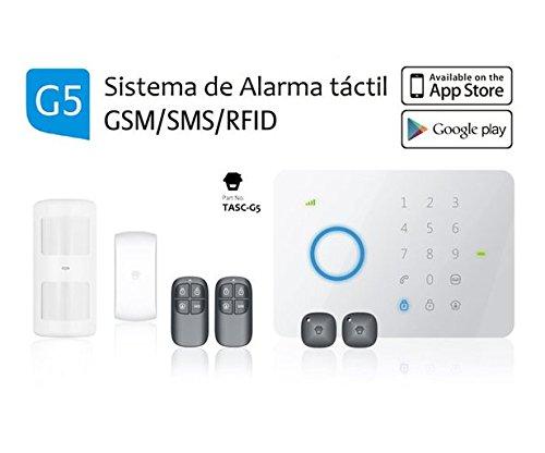 <p>Sistema de alarma con varios detectores&nbsp;</p>