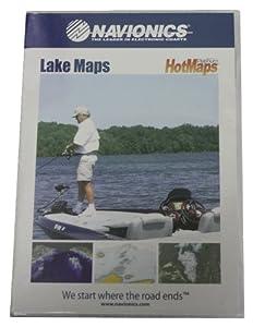 Navionics Hotmaps Platinum South Lake Map (Blue) by Navionics