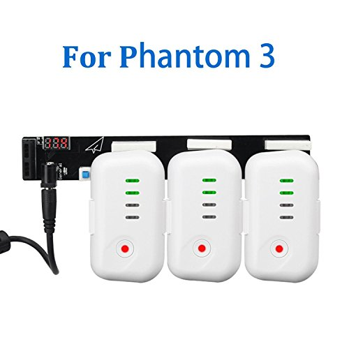 Topbest Power Series Fast Charging Board Adapter for DJI Phantom 3 Professional, Advanced, Standard Battery - 1