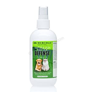 Mercola Natural Flea and Tick Defense 1 Bottle Spray from Mercola