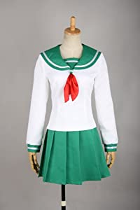 CosplayerWorld SizeM-Medium ?InuYasha Higurashi kagome Cosplay Costume