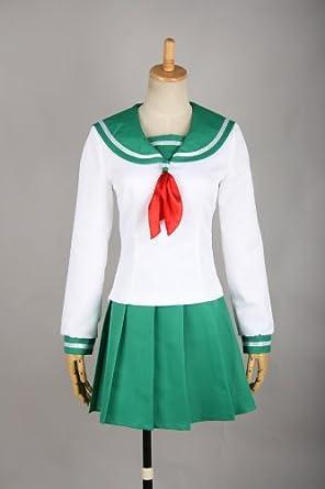 Size XL-Large ?InuYasha Higurashi kagome Cosplay Costume