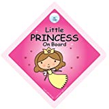 Little Princess on Board, Little Princess On Board Car Sign, Little Princess On Board Sign, Princess Car Sign, Baby on Board Car Sign, Baby Car Signs, Car Sign, Bumper Sticker, Decal, Baby Car Sign, Princess Car Sign, Princess On Board Signsby iwantthatsign.com