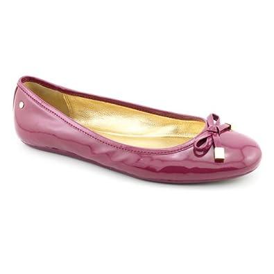Amazon.com: Coach Women's Dotty Flat (9, Pink): Ballet ...