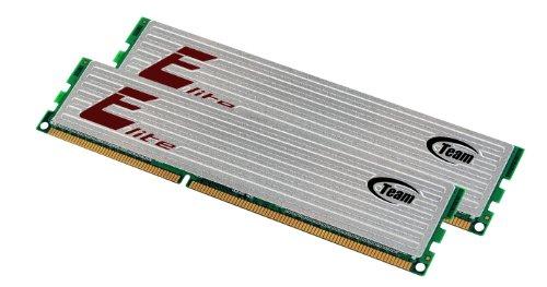 4GB Team Elite Plus Black DDR3 PC3-10666 1333MHz Dual Channel kit 9-9-9