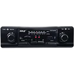 See 1 - Single-DIN In-Dash Shaft-Style Mechless Receiver, Single-DIN in-dash AM/FM receiver , 80W x 2, PLR14MPF Details