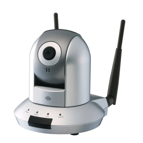 PLANEX iPhoneで簡単にパン・チルト操作ができる 11n/b/g無線・有線LAN対応ネットワークカメラ(メモリカードスロット付) CS-WMV04N