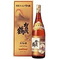 賀茂鶴酒造 大吟醸 純金箔入 特製ゴールド賀茂鶴1800ml(1本化粧箱入)