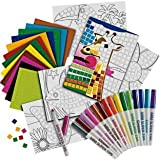 Create colourful works of art; Mosaic Madness Art Set.