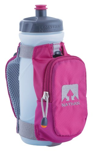 Nathan Nathan Quickdraw Plus Handheld Bottle Carrier (Berry, 22-Ounce)