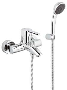 Grohe 32273000 Feel Ensemble de douche avec robinet mitigeur pour baignoire (Import Allemagne)