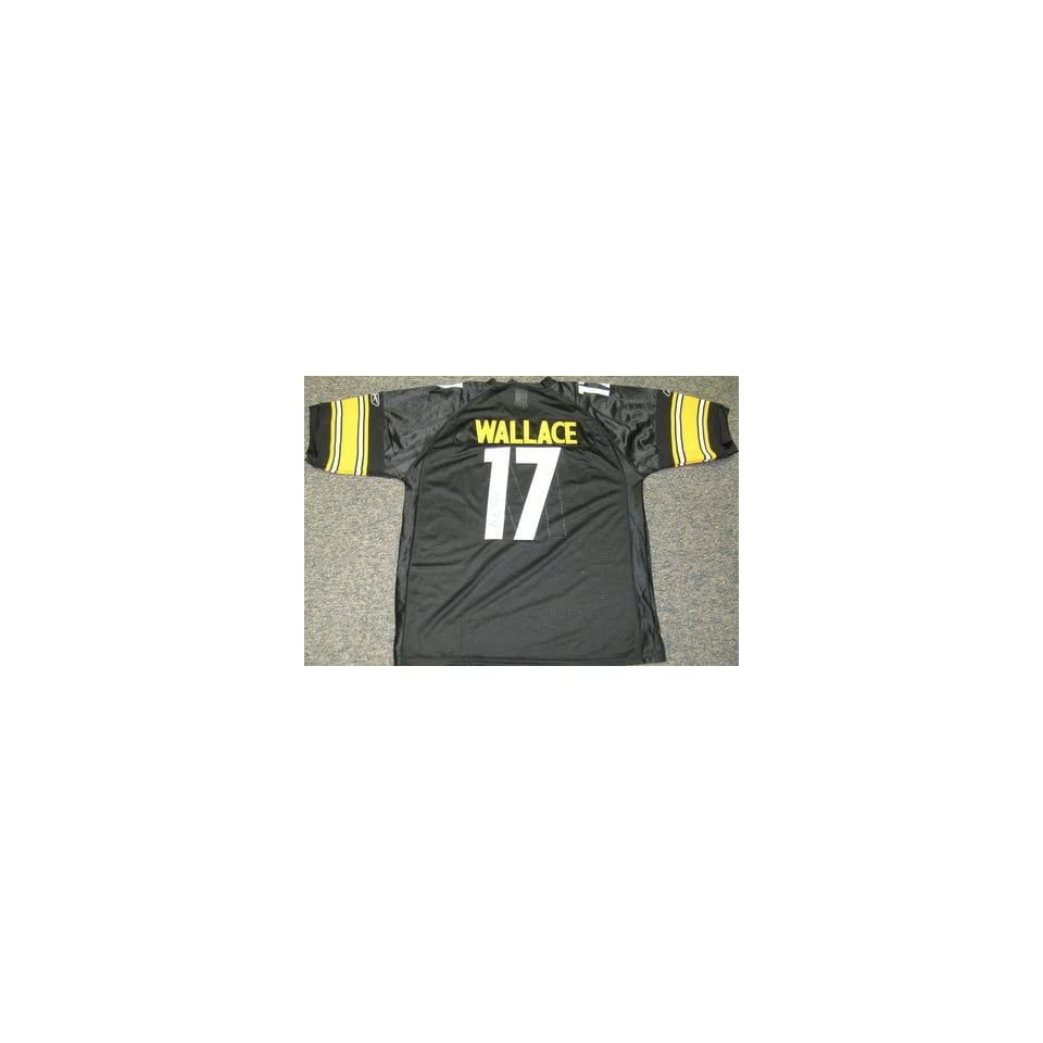 Mike Wallace Signed Jersey   Pittsburgh Steelers Jsa