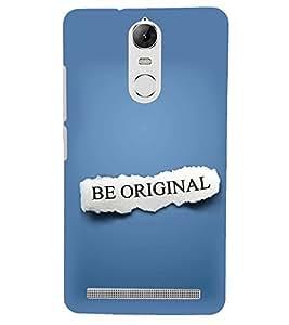 PRINTSHOPPII BE ORIGNOL Back Case Cover for Lenovo Vibe K5 Note Pro