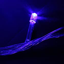 String Christmas Lights Together : Blue LED Christmas Lights My Choice Finds