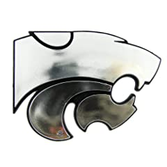 Buy NCAA Kansas State Wildcats Chrome Automobile Emblem by Team ProMark