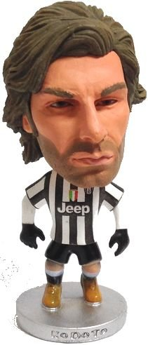 [Soccer figure] Andrea Pirlo [football player doll](Juventus FC/2014-15 Home Winter Edition/Italy SerieA) KDT (japan import) - 1