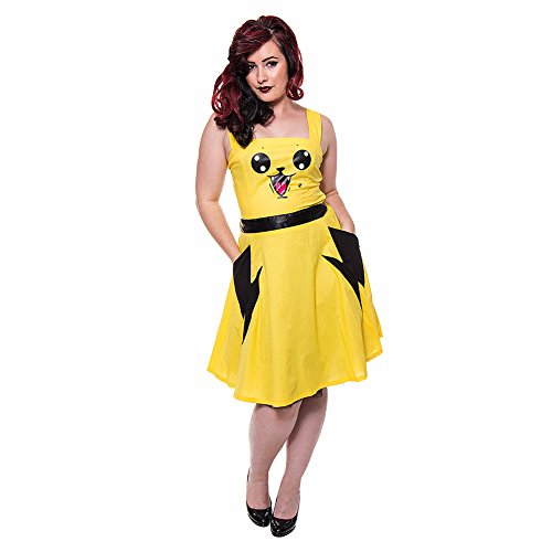 Abito Splash Cupcake Cult (Giallo) - X-Large