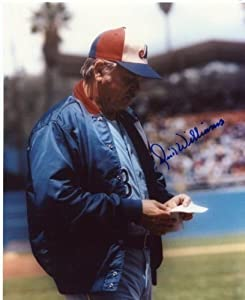 Dick Williams Montreal Expos Signed 8x10 Photo W COA