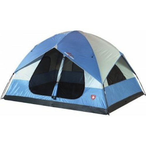 Mountain Trails Grand Pass 18 by 10-foot 2-room 9 to 10-person Family Dome Tent 2 Room Dome Tent 10'