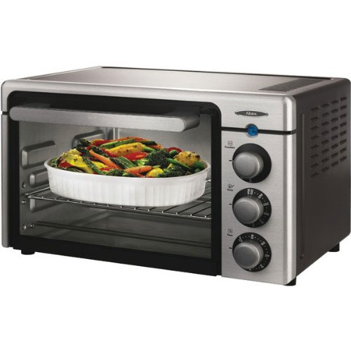 Countertop Roaster Oven Reviews : ... 6085 Channel 6-Slice Toaster Oven, Brushed Stainless Steel - Review