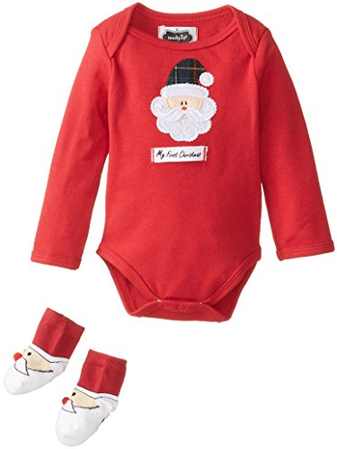 Mud Pie Unisex-Baby Newborn My First Christmas Boxed Set