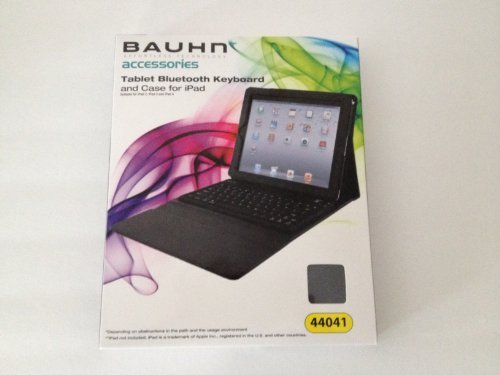 Click to buy TABLET BLUETOOTH KEYBOARD AND CASE FOR IPAD BY BAUHN - Effortless Technoloy Accessoreis - suitable for iPad2, iPad 3 and IPad 4, iPad not incuded. - From only $18