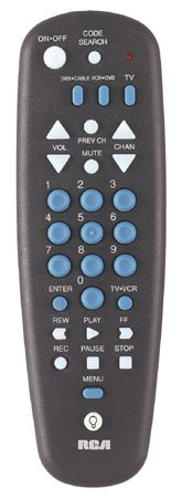 Rca Systemlink 3 Universal Remote Control Preprogrammed With Batteries Partially Backlit